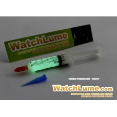 Premixed Watch Lume Syringe - GREEN